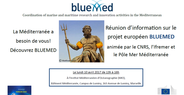 Information meeting on BLUEMED | 10 April 2017 | Marseille, France