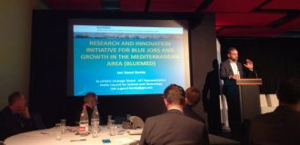 BLUEMED initiative is presented during the MSP conference