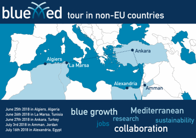 BlueMed tour in non-EU countries – 2018, June-July