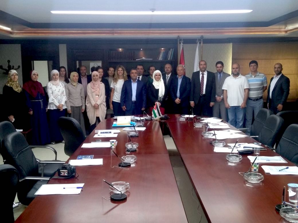 BlueMed Jordanian National Day on July 3rd, 2018 at the Higher Council for Science and Technology, Amman, Jordan