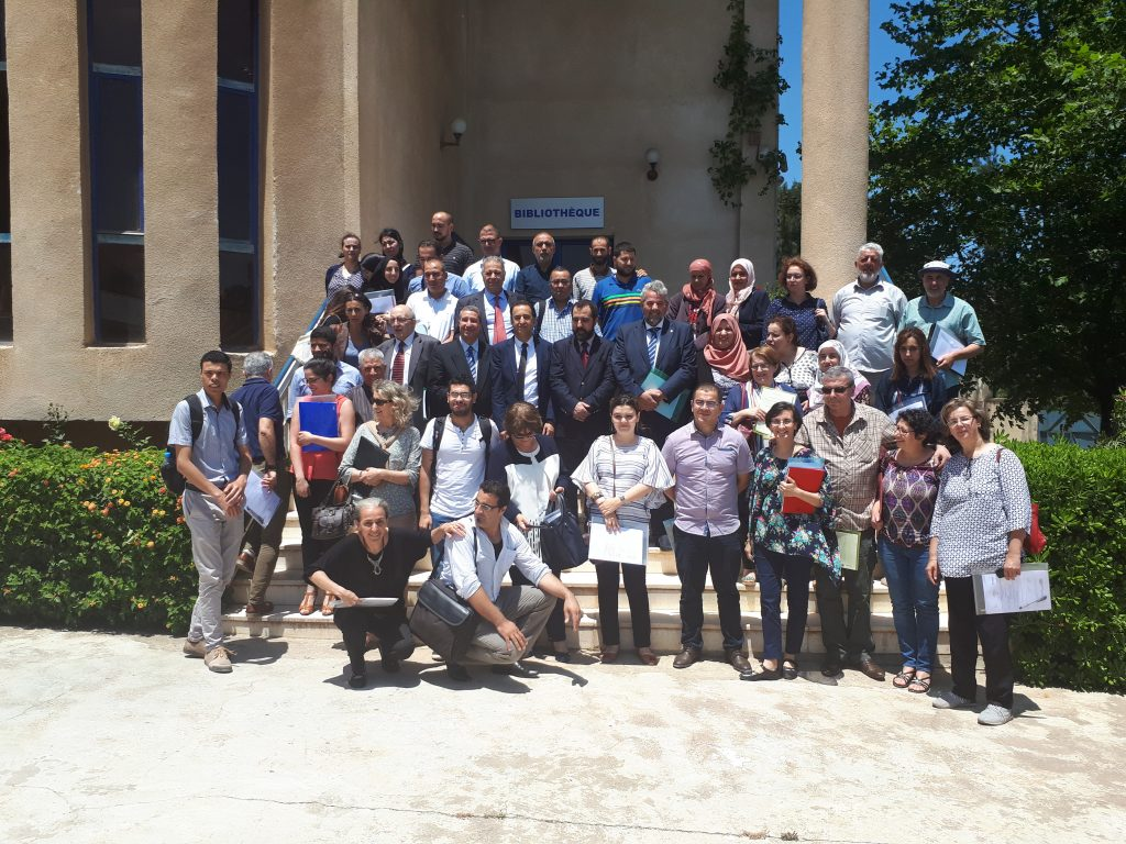 BlueMed Algerian National Day on June 25th, 2018 at ENSSMAL, Algiers, Algeria